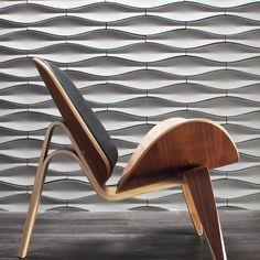 Origami Cast Architectural Concrete Tile - Natural