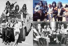 Gene Simmons, Paul Stanley, Ace Frehley, Alan Weiss, Peter Criss and Stan Lee