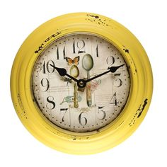 "8.2"" Spoons Design Lichen Circular Wall Hanging Clock"