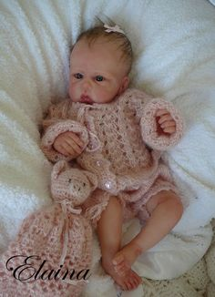 Solid Silicone Baby Dolls | She has been made into silicone from my Original One of a Kind Clay ...