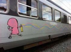 Classic by dRAN. Street Art - Graffiti - Urban culture.