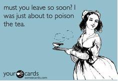 Coffee, Tea, Tea, Tea