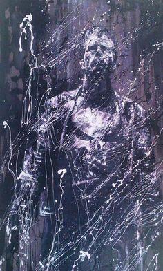#Punisher by Hüseyin Ünlü, 50cm x 100cm  #gallerymak #karikatur #yagliboya #çizim #cizim #sanat #ig_sanat #karikatür #comic #marvel #hollywood #drawing #sketch #artgallery #cagdassanat #sergi #exhibition #artcurator #contemporaryart #contemporary #artbasel #artsy #artcollector #arte #kunst #artlovers