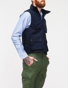 The vest.