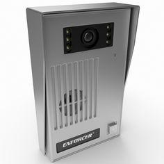 Video Door Bell 3D Model - 3D Model