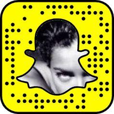 Adriana Lima's Snapchat Code #snapcode #snapchat #victoriassecret #model