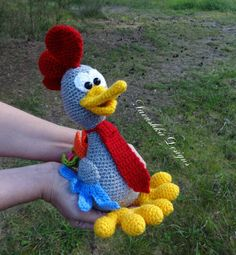 Pattern Crochet Amigurumi Rooster Don Pedro. ENG, RUS. PLEASE NOTE: THIS IS A PATTERN ONLY and NOT THE FINISHED TOY!!! With 2017 being the year of the rooster, these are the perfect gifts for your guests, kids and family, or just as kids toys.This rooster amigurumi pattern is created