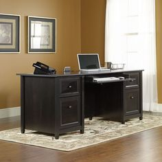 Sauder Edge Water Executive Desk & Reviews   Wayfair Supply