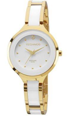 c4103fe4d0c Relógio Technos Elegance Ceramic 2035LYW 4B