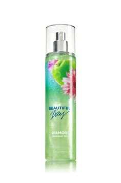 Beautiful Day - Diamond Shimmer Mist - Signature Collection - Bath & Body Works - Dazzle with Diamonds! Infused with real diamond dust, our luxurious Diamond Shimmer Mist kisses skin with irresistible fragrance and gorgeous sparkle. Victoria Secret Lotion, Cosmetic Design, Perfume, Bath And Bodyworks, Body Mist, Body Spray, Smell Good, Face And Body, Beautiful Day
