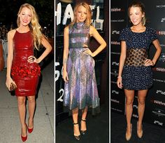 I will always be mesmerized by Blake Lively, known as Serena Van Der Woodsen in Gossip Girl, because she is the epitome of the twenty-something jetset, glamour girl. Better yet, she has no stylist. She's also talented and hopefully friendly.