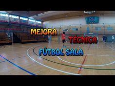 Mejora de la técnica del fútbol sala | Futsal technique training - YouTube Drills, Basketball Court, Train, Sports, Youtube, Footprint, Fitness Exercises, Workout Exercises, Hs Sports