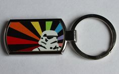 Custom Made Star wars stormtrooper Silver chrome metal photo