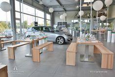 Firmenjubiläum im Peugeot-Autohaus