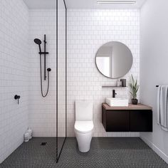 Modern Small Bathroom Design The Basic Components of Modern Bathroom Designs Modern Small Bathroom Design. Incorporating a modern bathroom design will give you a more … House Bathroom, Small Bathroom, Bathrooms Remodel, Bathroom Decor, Trendy Bathroom, Bathroom Design, Minimalist Bathroom, Shower Room, Bathroom Layout
