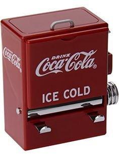 TableCraft Coca-Cola CC304 Vending Machine Toothpick Dispenser ❤ Tablecraft
