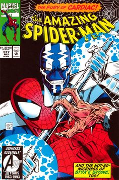 Cover for The Amazing Spider-Man (Marvel, 1963 series) [Direct Edition] Marvel Comics Art, Marvel Comic Books, Marvel Heroes, Marvel Villains, Marvel Universe, Mark Bagley, Amazing Spiderman, Spiderman Classic, Spider Verse