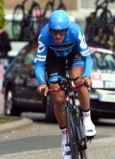 2012 Giro d'Italia stage 1  Raimundas Navardauskas had the time to beat for most of the day until Thomas eclipsed it. Photo: Graham Watson | www.grahamwatson.com