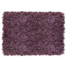 Alfombra 160x230 cm Luxury Shaggy púrpura-Sodimac.com