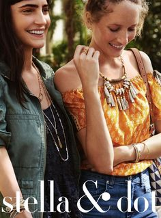 Stella & Dot Spring 2016 Look Book US linked