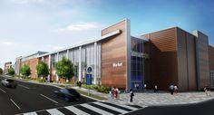 Walmart - East Capital Street, Washington DC -  MMA Architects - Massa Montalto Architects