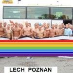 LECH POZNAN 'HOOLS' BECOME UNEXPECTED OVERNIGHT INTERNET SENSATION