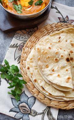 Naan, Indian Food Recipes, Vegetarian Recipes, Ethnic Recipes, Pan Hindu, Chapati Recipes, Roti, Comida India, Gastronomia