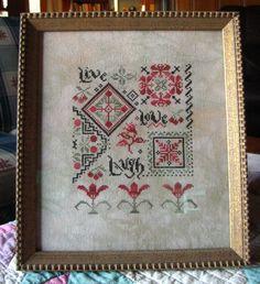 La D Da lovers and stitchers' blog