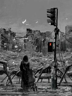 A Separate Reality: New Paintings of Dystopian Worlds by Alex Andreev science fiction painting illustration digital Art Apocalypse, Cyberpunk, Alex Andreev, Best Sci Fi Books, Dystopian Art, Dystopian Future, Post Apocalyptic Art, Illustration Photo, Science Fiction Books