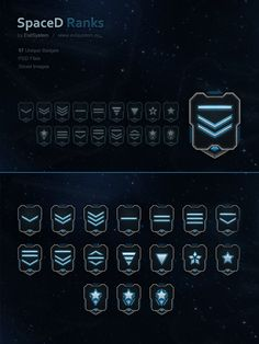 SpaceD Ranks by Evil-S on DeviantArt