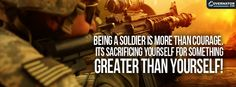 Being A Soldier Is More Than Courage