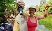 Globo Repórter - Casal transforma quintal de casa em pesque-pague e realiza sonho | globo.tv
