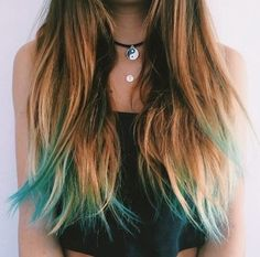 This is my favorite! If I ever dye my hair I want to dye it like this
