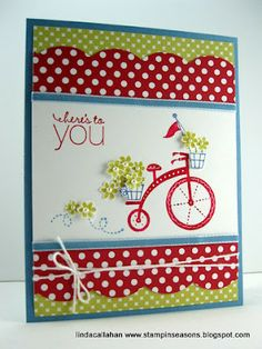 by Linda Callahan, Stampin' Seasons