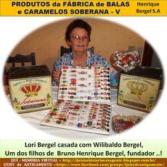 IJUÍ - RS - Memória Virtual: Produtos da fábrica de balas e Caramelos Soberana…