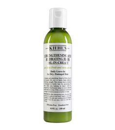 Strengthening and Hydrating Hair Oil-in-Cream by Kiehl's Since 1851. Anti-breakage treatment and styling cream for dry, damaged hair. Reduce breakage for smooth, strong, healthy hair.