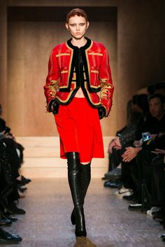 Riccardo Tisci is back in Paris to present his fall designs.