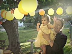 you are my sunshine party decorations | Lasso The Moon : You Are My Sunshine - Esthers 1st Birthday Party