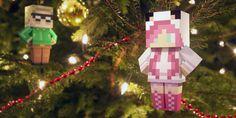 Pour les geeks et les gamers, voici les Minetoys imprimés en 3D. Ces personnages 3D sont issus du célèbre jeux Minecraft (chargé à plus de 60M d'exemplaires) et produit par Fabzat (Bègles) ||| http://www.minetoys.com/||| http://3dprintingindustry.com/2014/12/17/3d-printing-fabzat-minecraft-blocky/