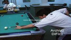 Diego Maradona jugando al pool en un salon 1996 + @dailymotion Filing Cabinets, Lounges