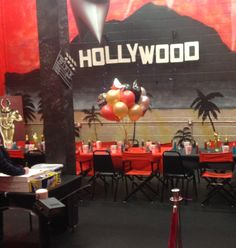 My daughter's Hollywood birthday party room 🎂🎉🎈