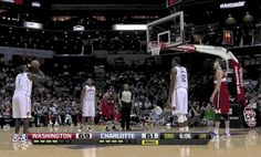 When DeSagana Diop shot a free throw. | 25 Times Basketball Players Totally Forgot How To Basketball