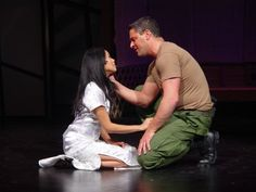 Lea Salonga in Miss Saigon (Kim and Chris)