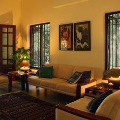 Home Room Design, Home Interior Design, Living Room Designs, India Home Decor, Ethnic Home Decor, Indian Home Design, Indian Home Interior, Indian Room Decor, Living Room Partition Design