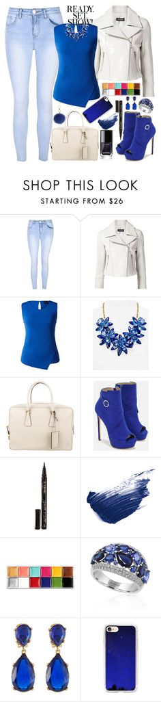"""nice"" by amila-lugavic ❤ liked on Polyvore featuring Glamorous, Yigal AzrouÃ«l, Kate Spade, Prada, JustFab, Smith & Cult, By Terry, Effy Jewelry, Kenneth Jay Lane and Casetify"