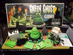 """Green Ghost Game 1965 """"Real Nice """" Trans O Gram """" Made in USA"""" 