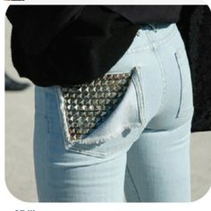 imma try this with an old pair of jeans....