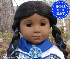 No, we do not have Kaya in our collection (although we have come close quite a few times), but when Miriam sent me these gorgeous photos of Kaya, I just decided that she had to be the doll of the d…