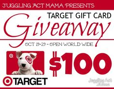$100 Target Gift Card #Giveaway @Jamie @ Love Bakes Good Cakes