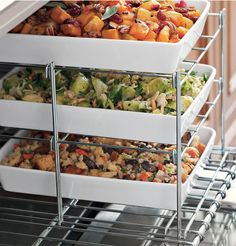 Three Tiered Oven Rack for Thanksgiving Cooking http://rstyle.me/n/tdujnbh9c7